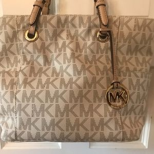 Michael Kors pvc shoulder bag